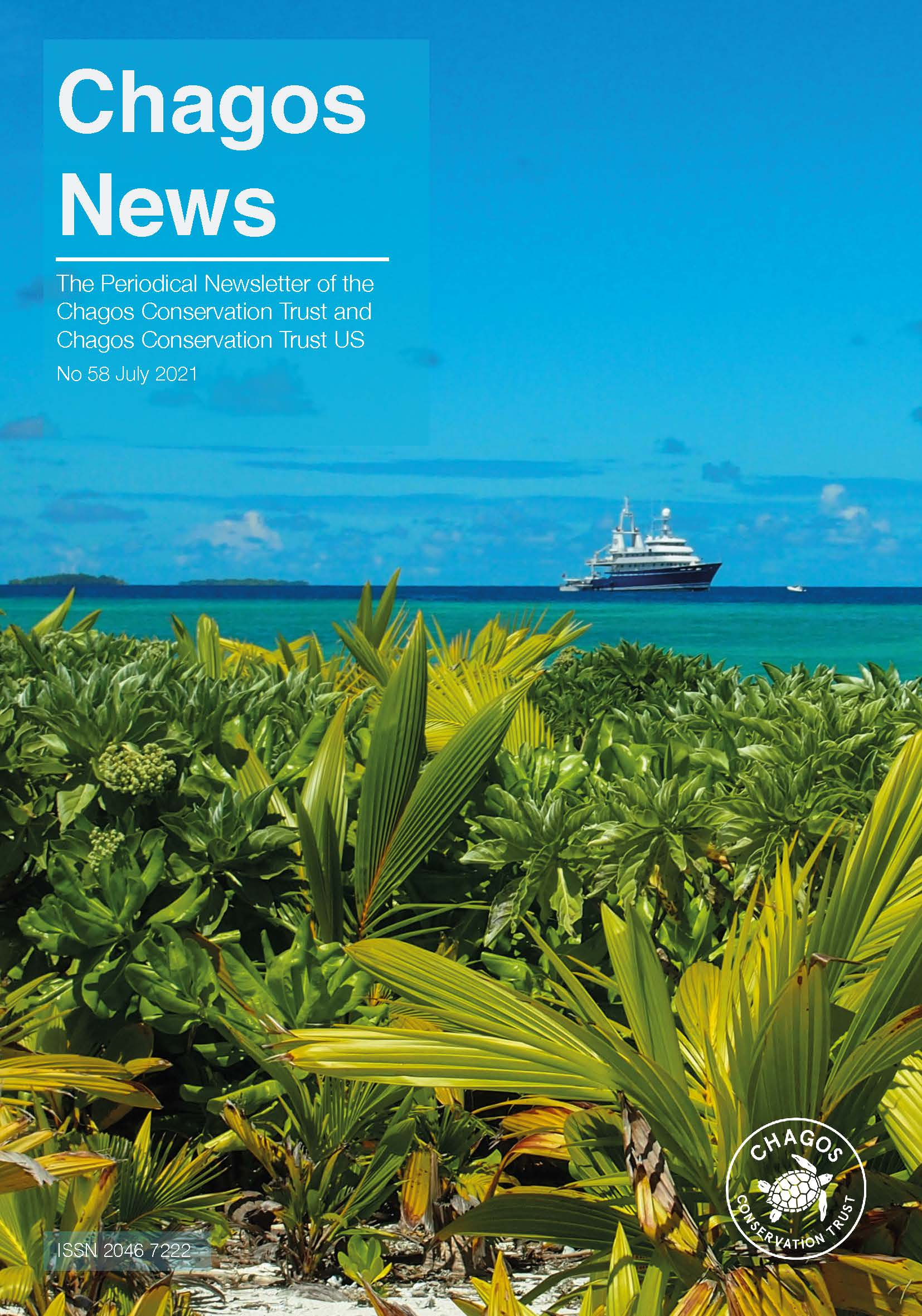 Chagos News issue #58