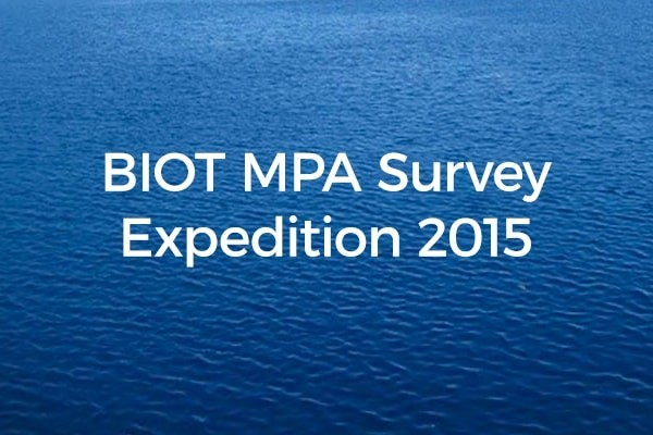 BIOT MPA Survey Expedition 2015 - A letter from Nadine after the expedition