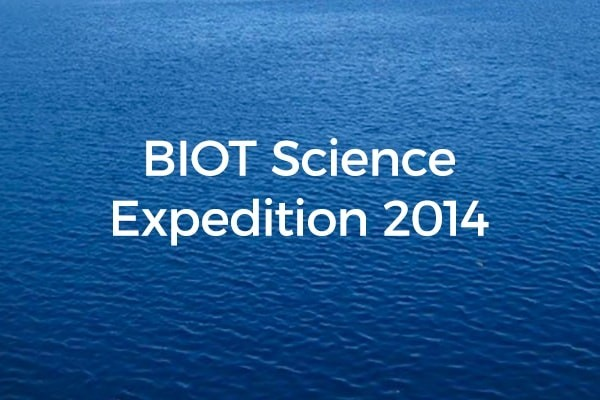 BIOT Science Expedition 2014 - Prof Charles Sheppard's initial report