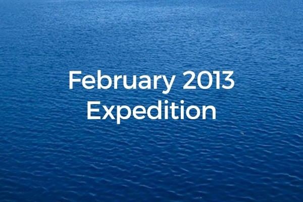 February 2013 Expedition Protecting the amazing Chagos archipelago